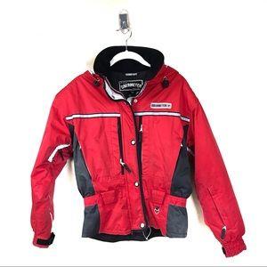 Obermeyer red ski snowboard coat 10